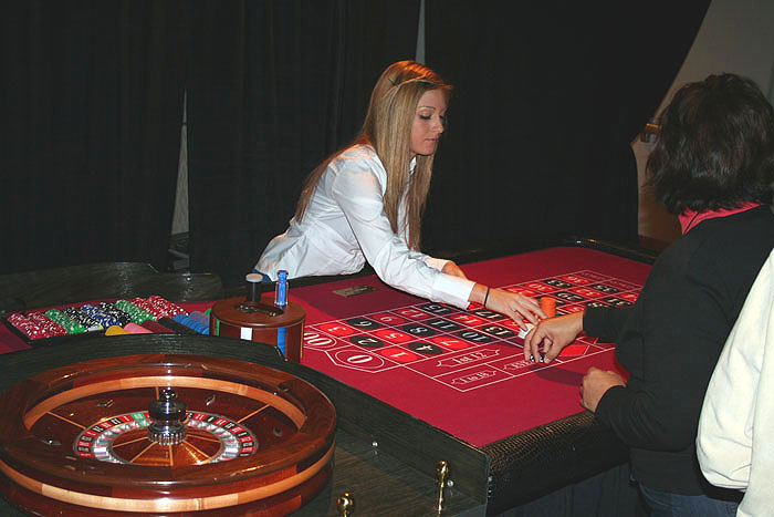 Casino night party at home
